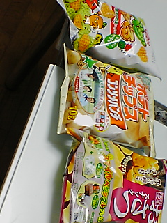 スナック菓子^^