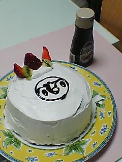 ケーキ作り♪