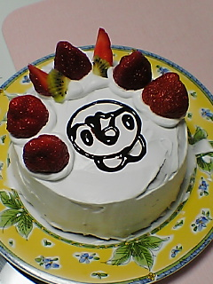 ポッチャマケーキ完成♪