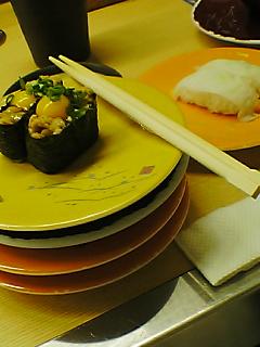 お寿司が大好き♪