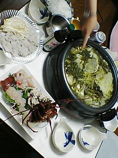 昨日の鍋パーティー