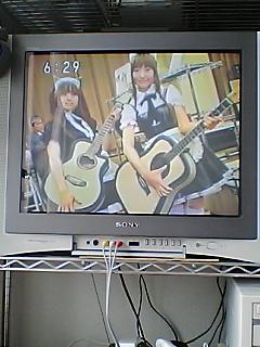 夕方のTV(畳萌え〜)