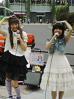 秋葉路上ライブ飛び入り参加!!