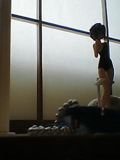 長門さん(スク水ver.)