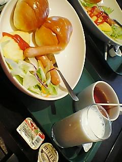 昨日の夜ご飯と朝ご飯