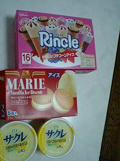 夕飯とお菓子♪