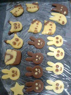 クッキー焼くの