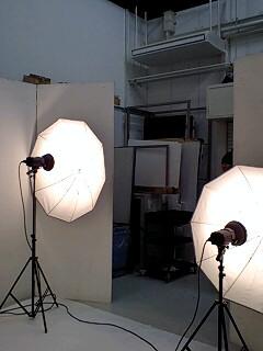大学のスタジオ