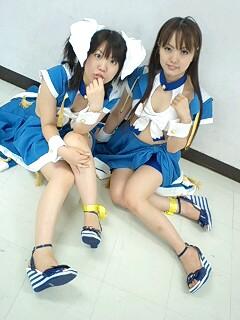 2008年7月13日新大阪イベント真梨花&みなみさん