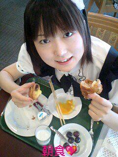 ホテルで朝食♪