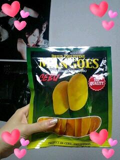 乾燥マンゴーと松茸