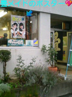 畳メイドのポスターと仙台のお土産☆