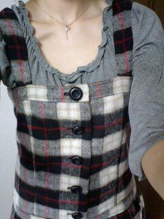昨日は新しい秋服を着ました♪