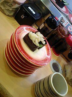 120円☆回転寿司♪