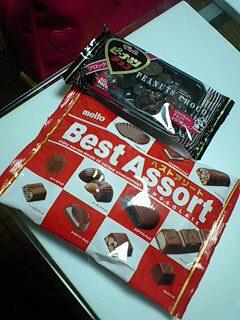 バニラソルトとチョコレート