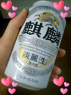 今日は徹夜☆ビール好きなミサトさん