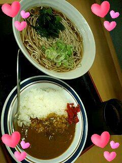 蕎麦とカレーの組み合わせ!!