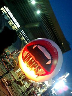 2009.9.5VAMPS武道館ライブ☆最終日と青の6号