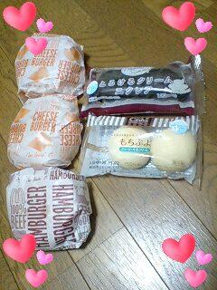 蕎麦とバーガーとデザート♪